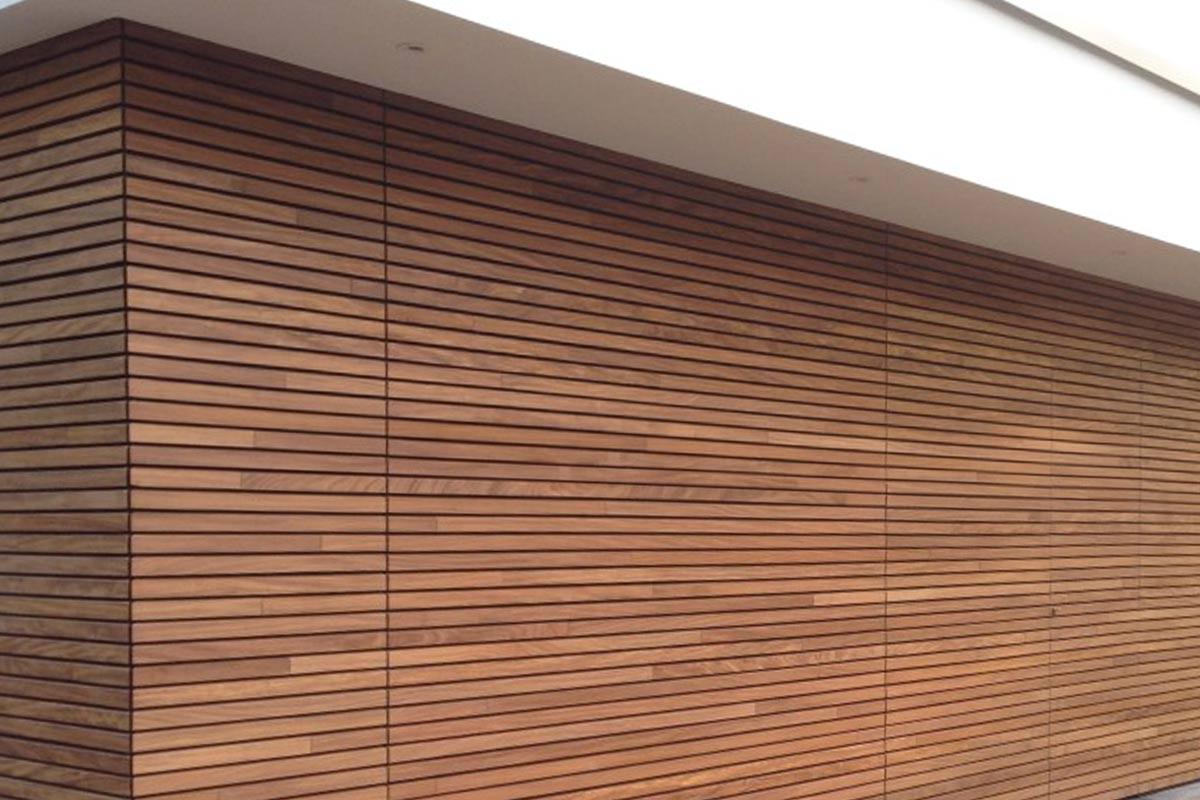 houten gevelbekleding horizontaal