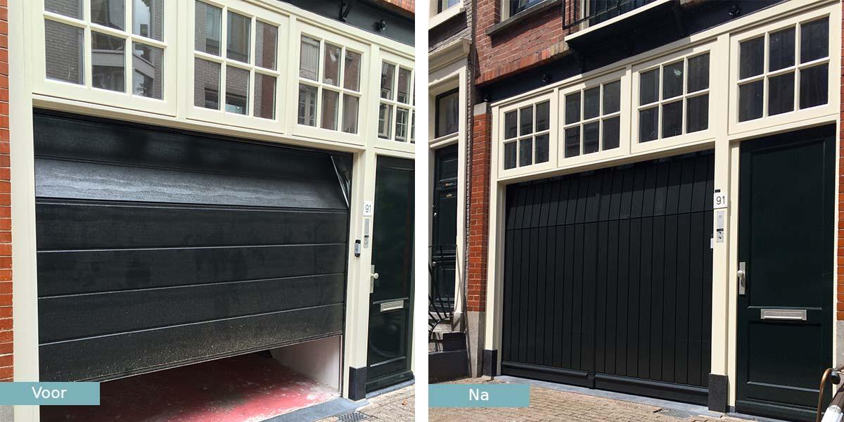 garagedeur-monumentaal-pand-amsterdam-voor-na