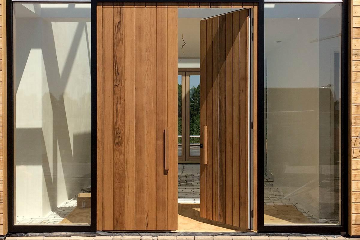 houten voordeur plato wood