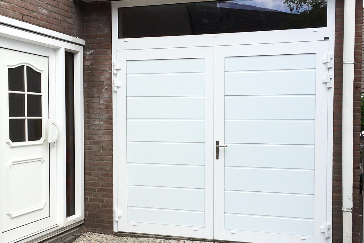 Openslaande-garagedeuren-vast-bovenglas-2
