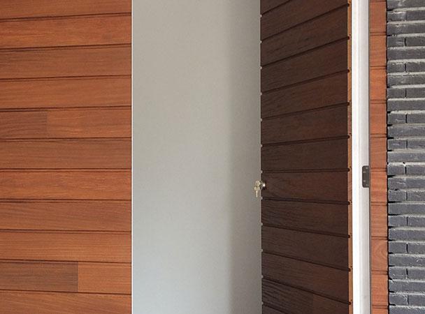 Optimale isolatie hout garagedeur