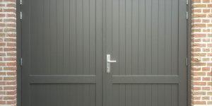 klassieke openslaande deur hout
