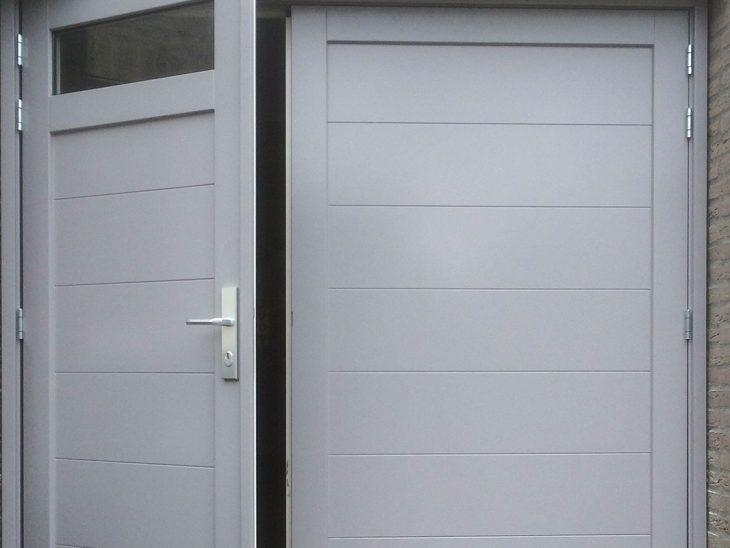 houten openslaande garagedeur den bosch