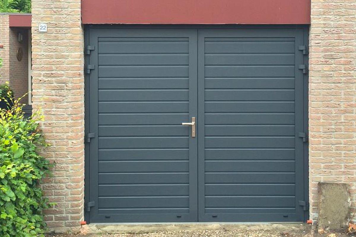 openslaande-deuren-smalle-panelen-RAL70161