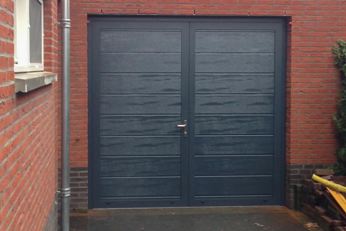 openslaande garagedeur in Weert