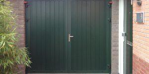Garagedeur verticale nerf