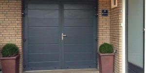 openslaande garagedeuren