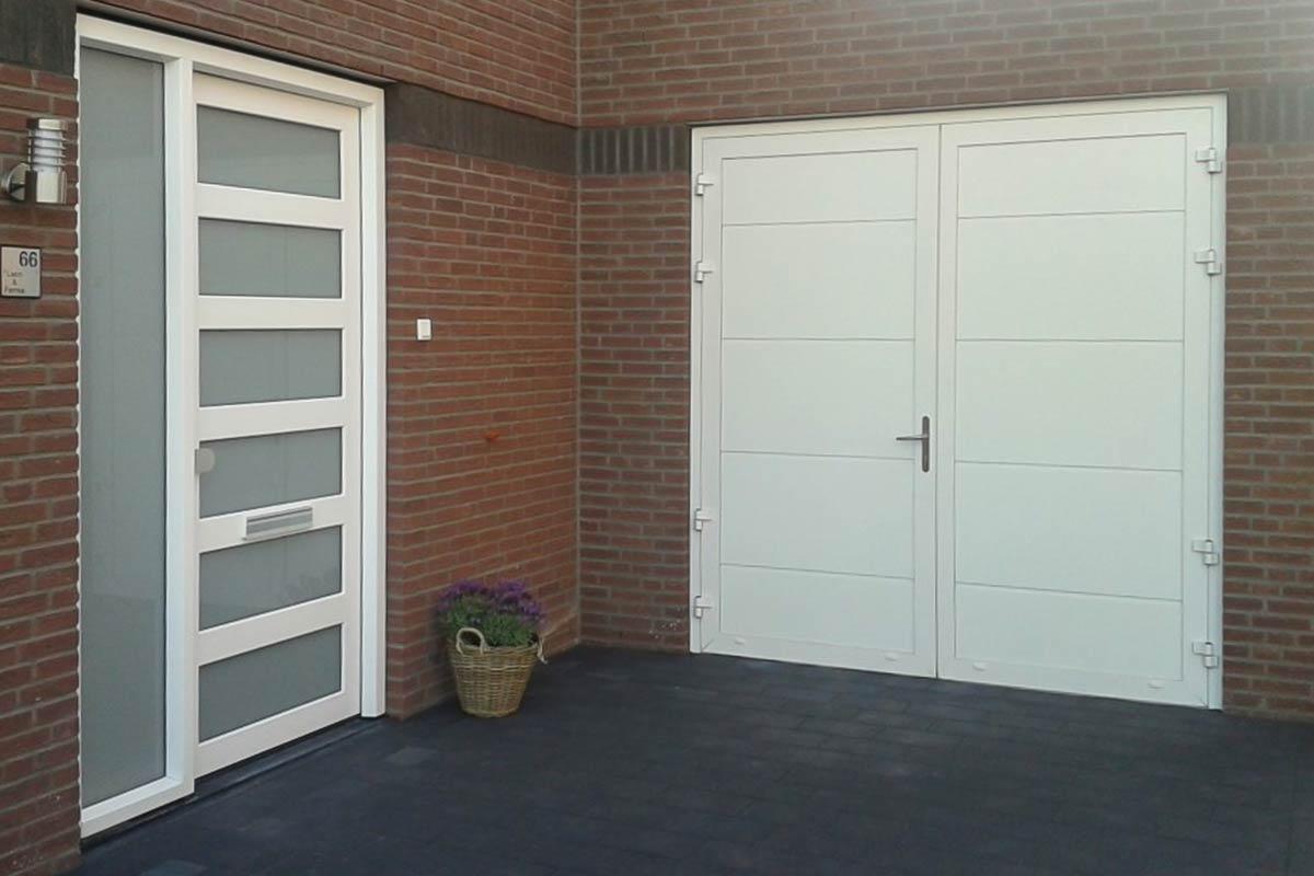RAL 9010 garagedeur