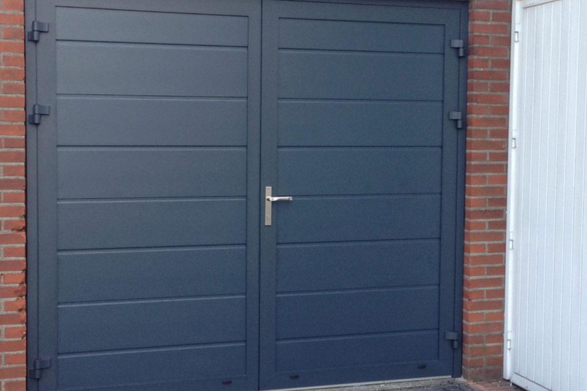 openslaande deuren RAL-7016