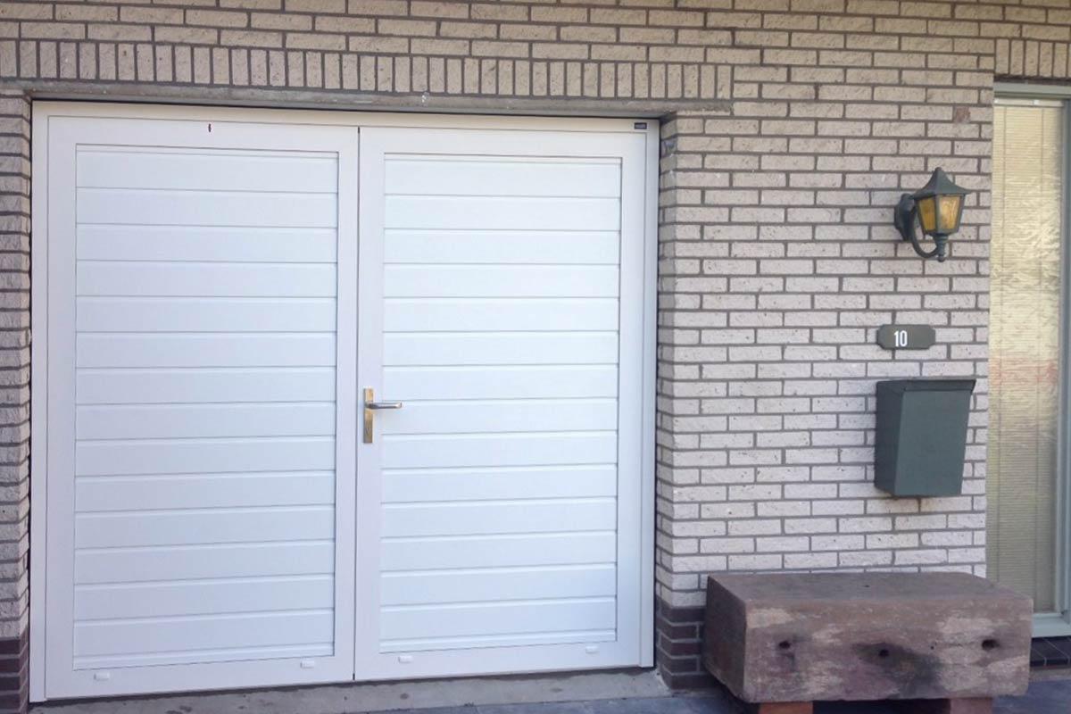 openslaande deuren met verdekte scharnieren