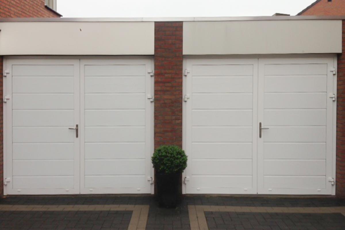 Openslaande garagedeuren Buren