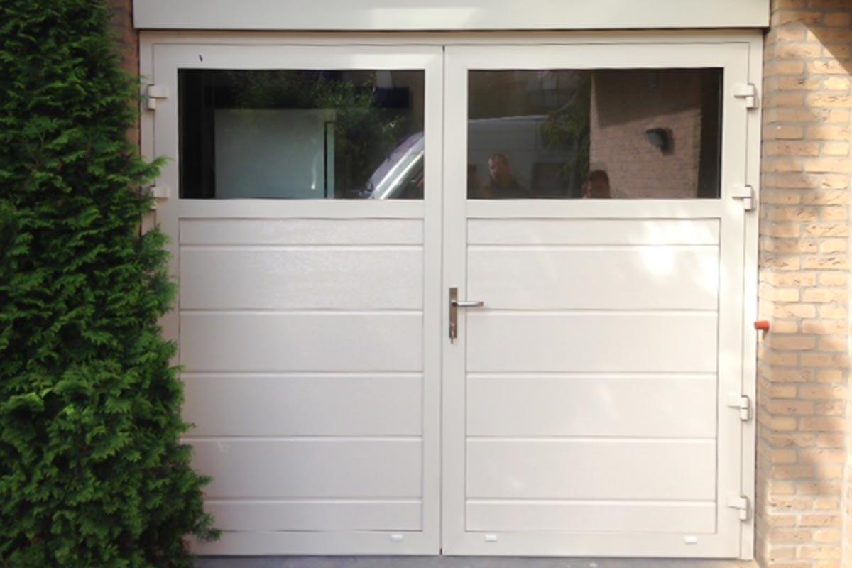 kunststof garagedeur