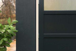 houten openslaande garagedeur