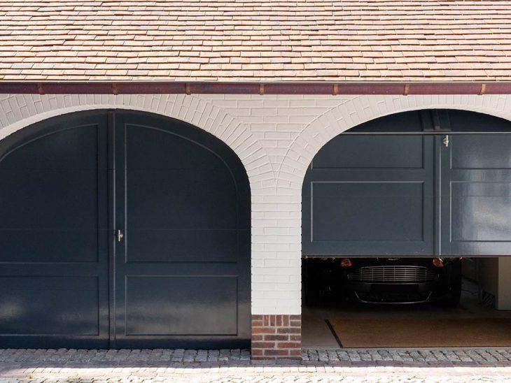 elektrische sectionaaldeur dubbel