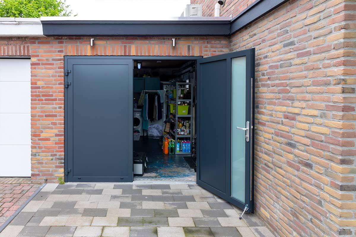 dubbele garagedeur