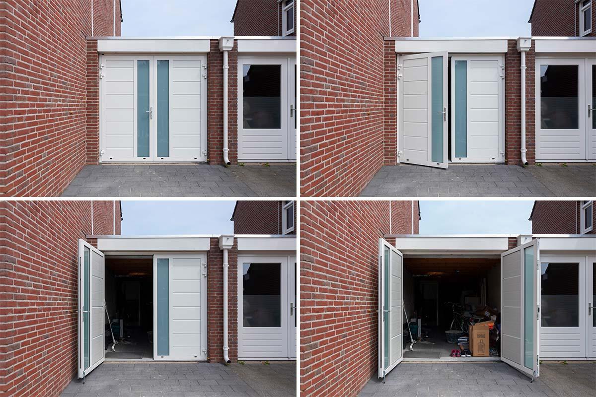witte-openslaande-garagedeur-met-melkglas-horizontaal