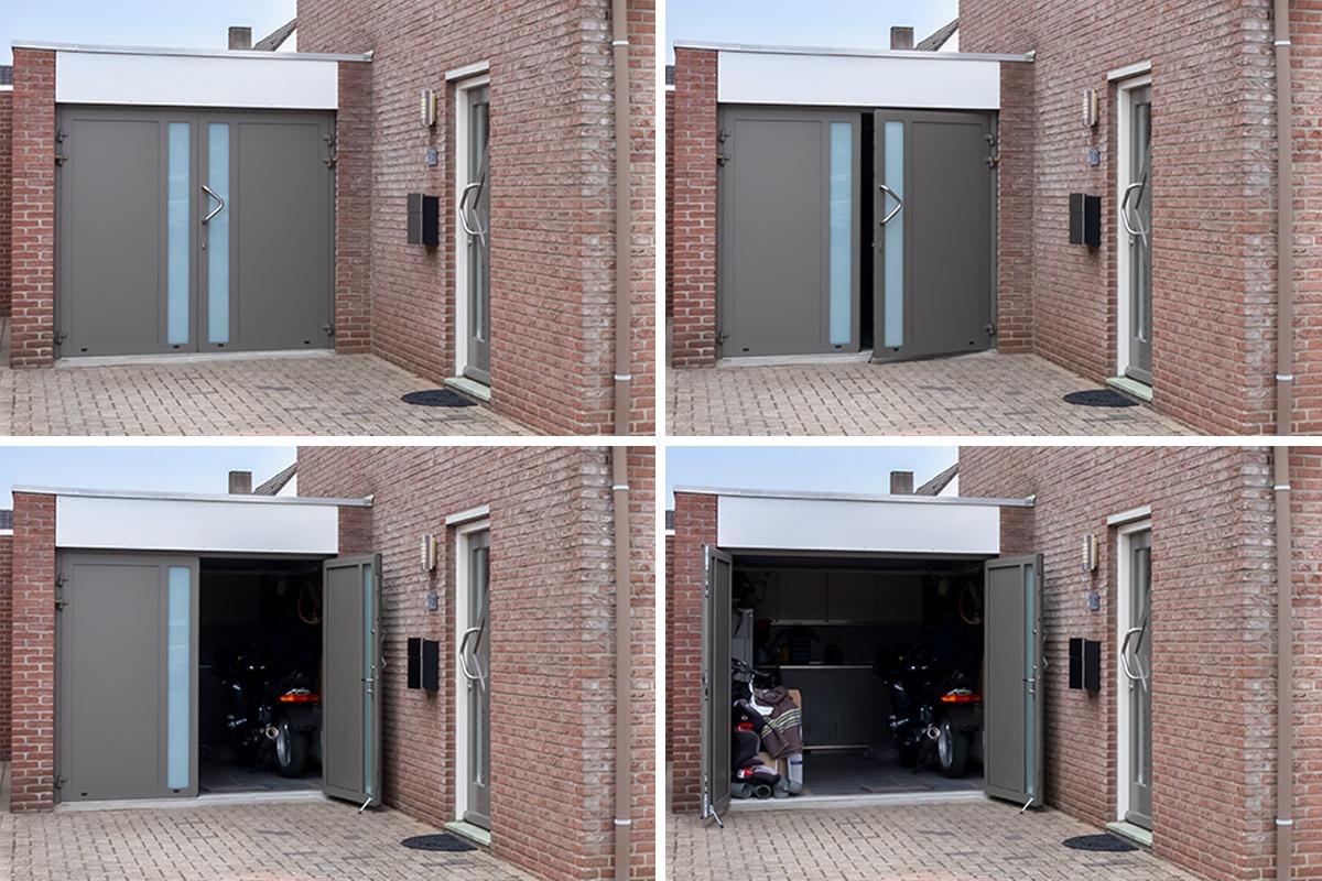 Lage prijs garagedeur