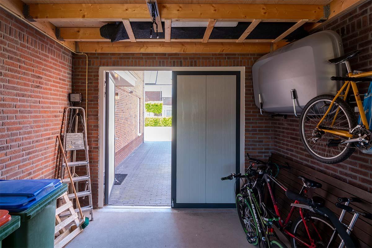 Garagedeur binnenkant