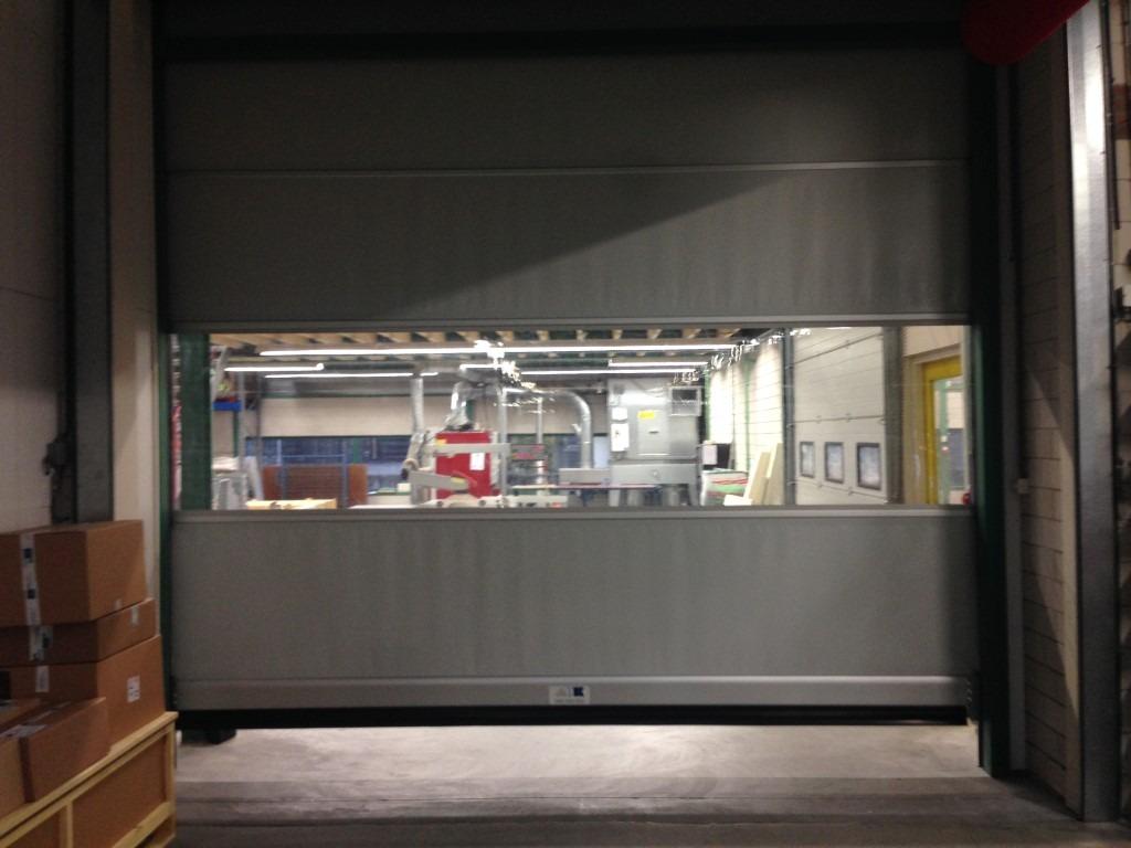 Snelloop-industrie-deur