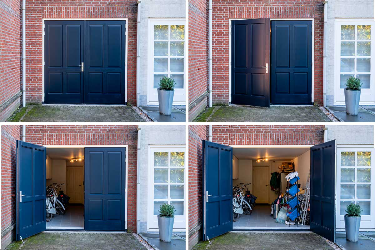 openslaande-garagedeur-sierlijst