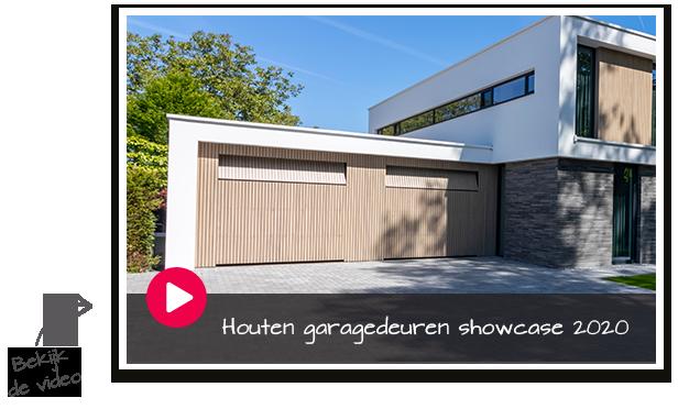 Houten garagedeuren showcase