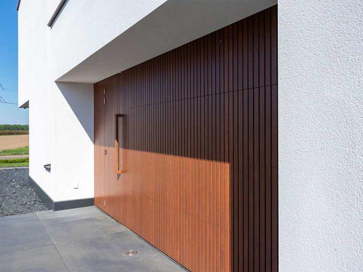 frake houten sectionaaldeur