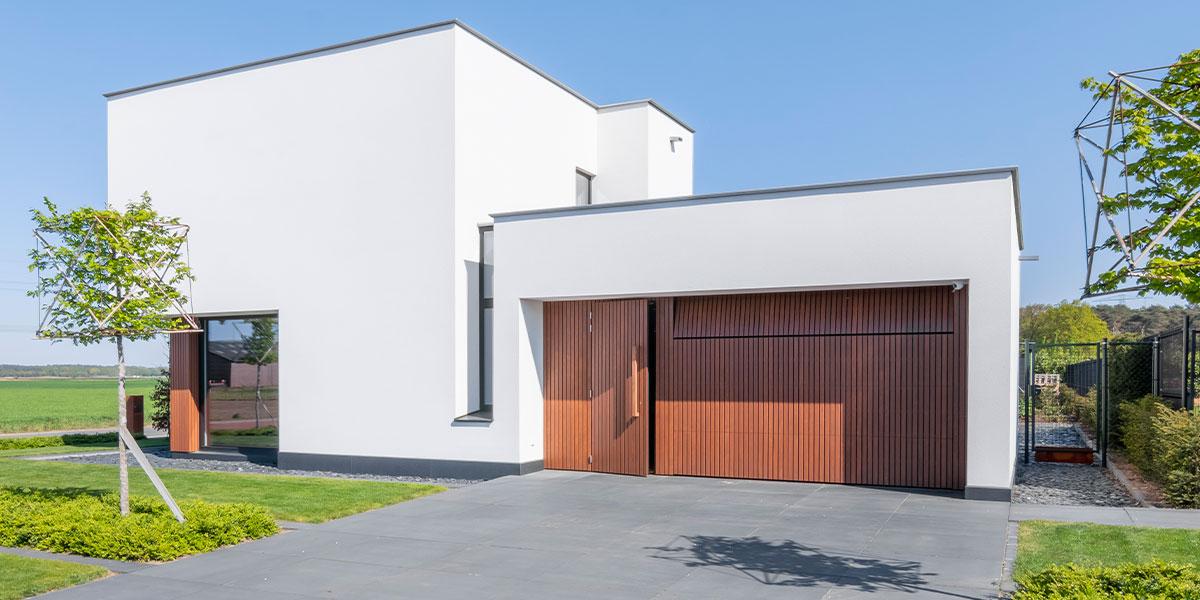frake houten garagedeur