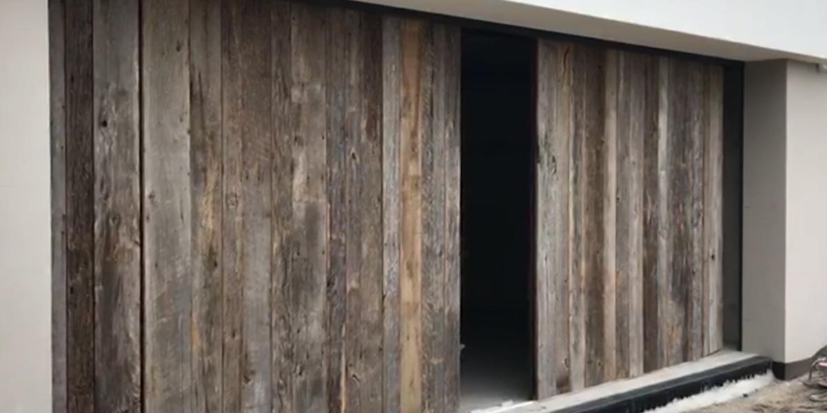 barnwood-garagedeur