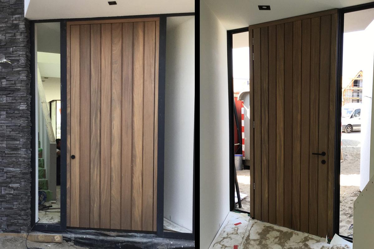 houten-voordeur-in-alu-kozijn