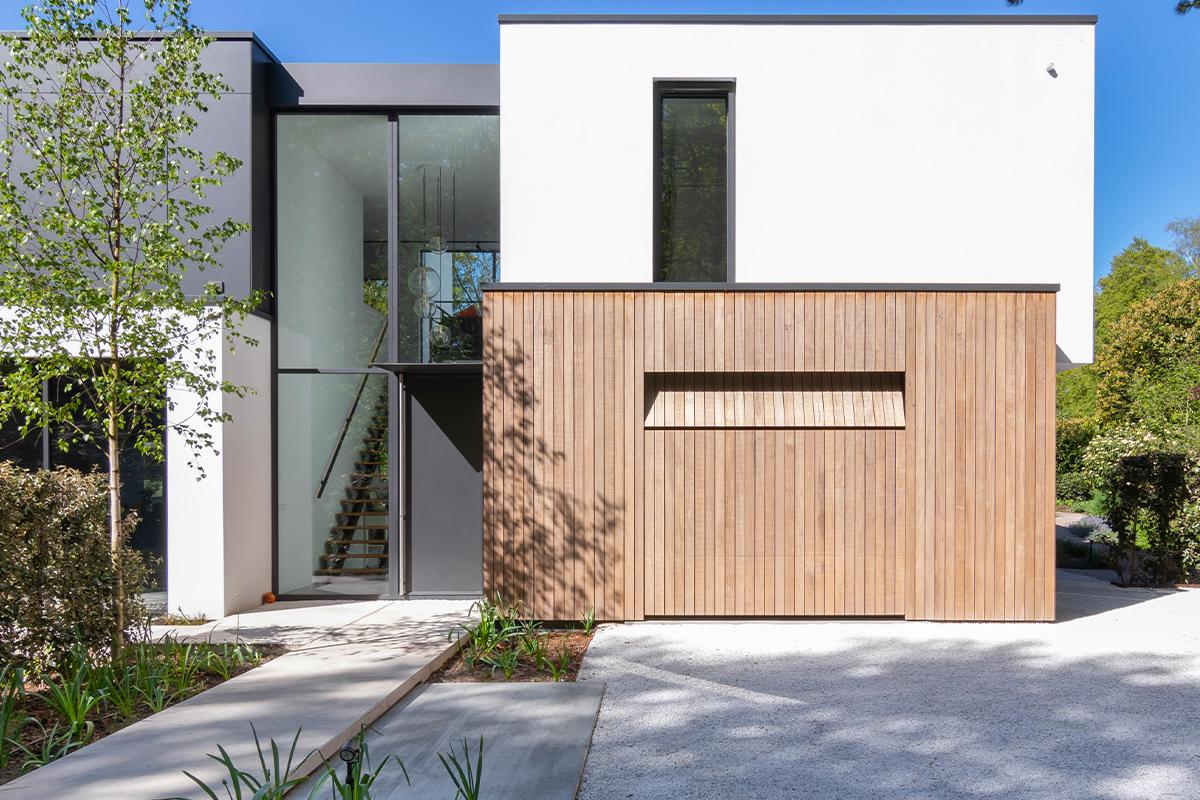 houten sectionaal garagedeur
