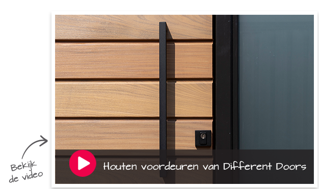houten voordeuren van Different Doors