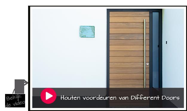 houten voordeuren van Different Doors 2