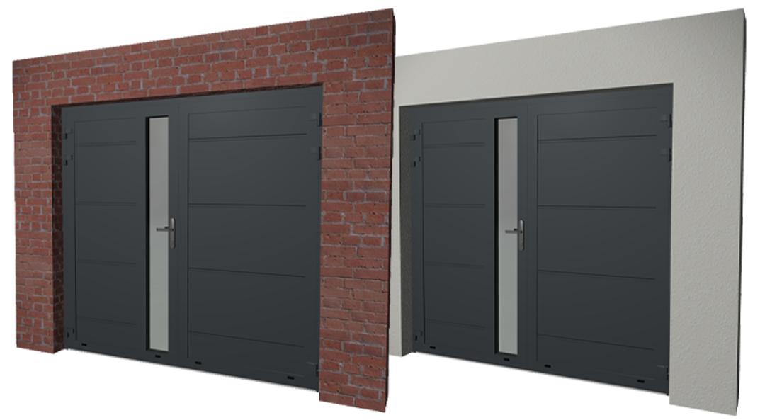 Configuraties-garagedeuren