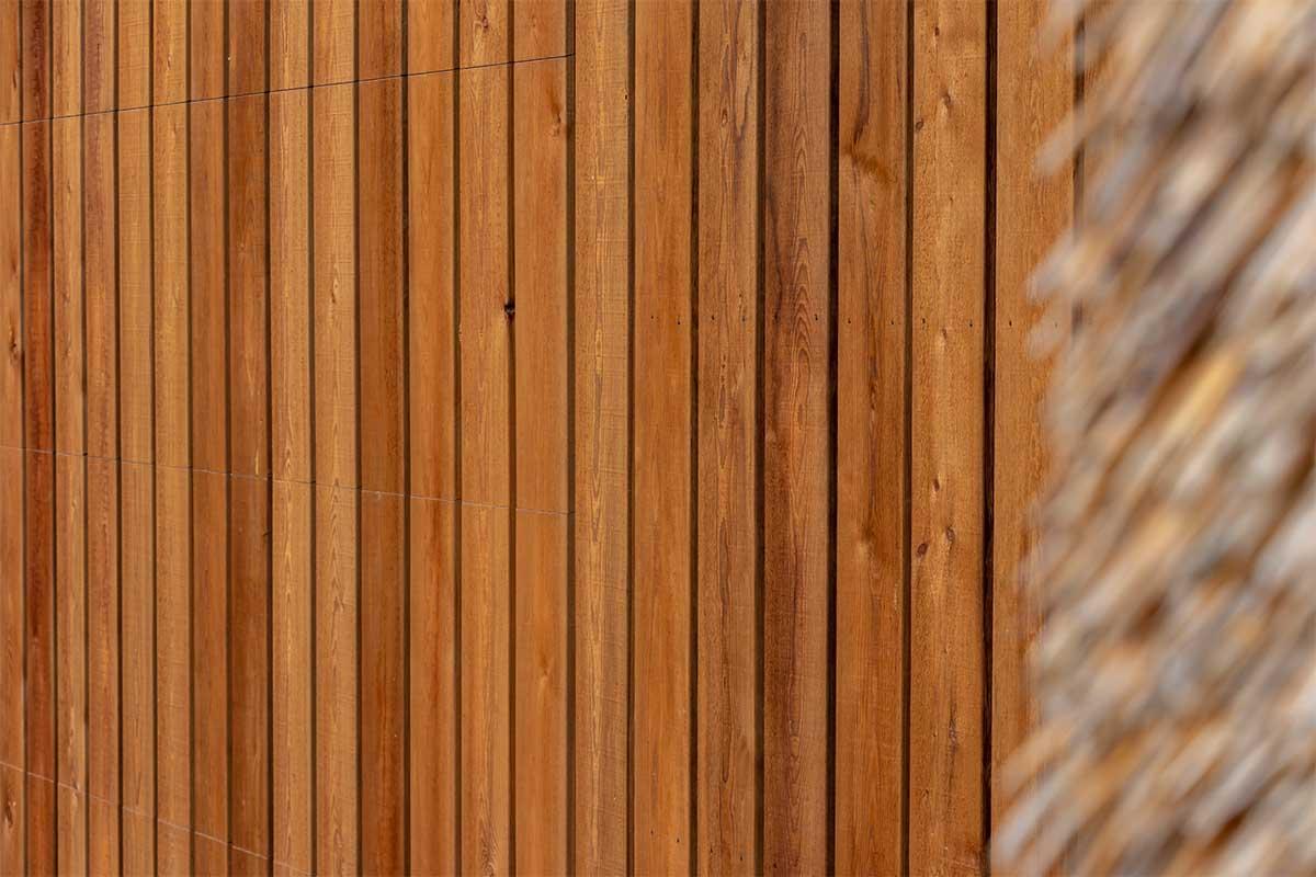 houten garagedeur gelijk met de gevel (6)