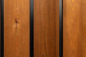 houten garagedeur gelijk met de gevel (11)