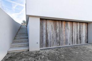 houten zijwaartse garagedeur barnwood (2)