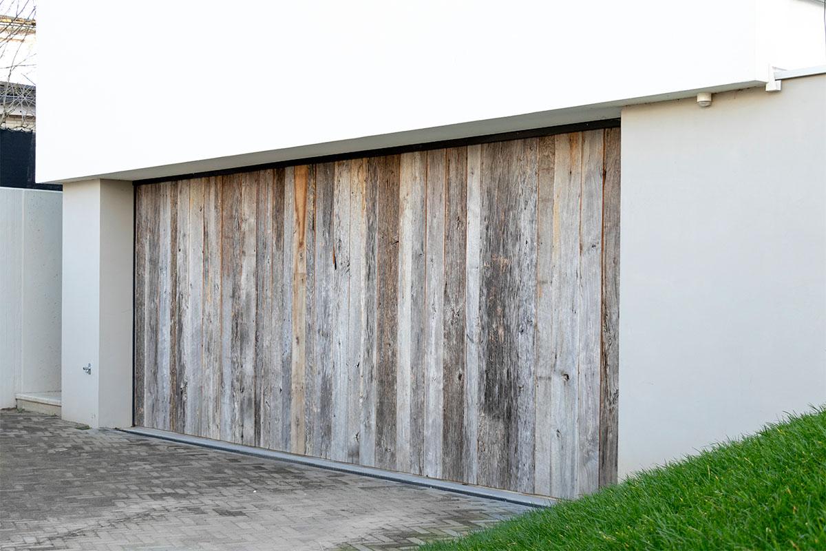 houten zijwaartse garagedeur barnwood (16)