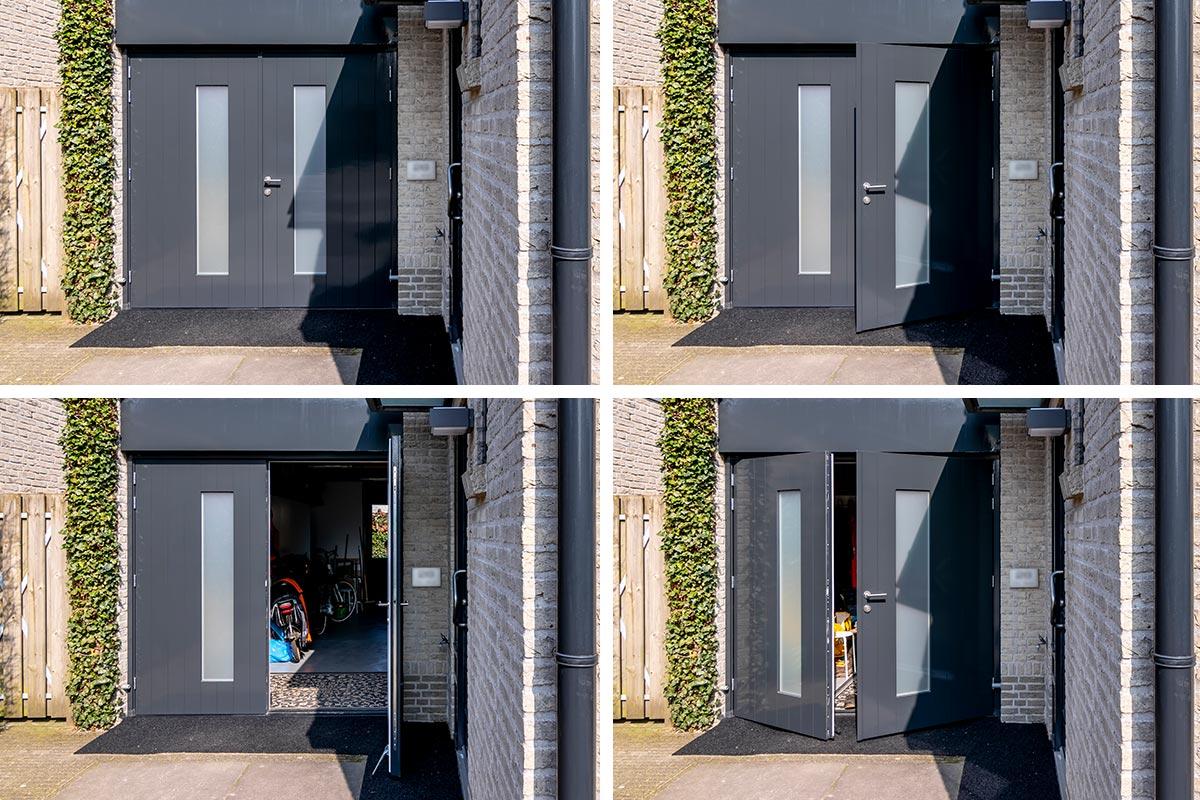 houten-openslaande-garagedeur-melkglas-geisoleerd