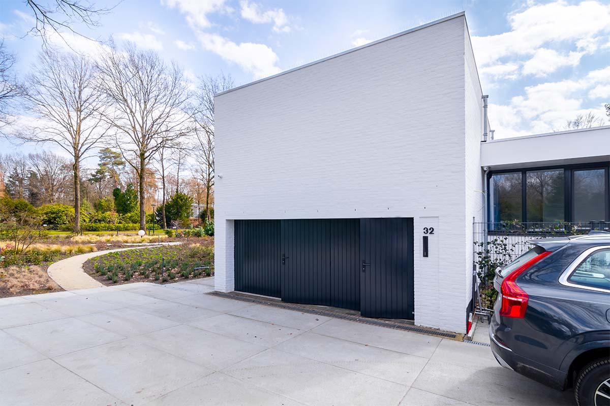 dubbele houten openslaande garagedeur (3)
