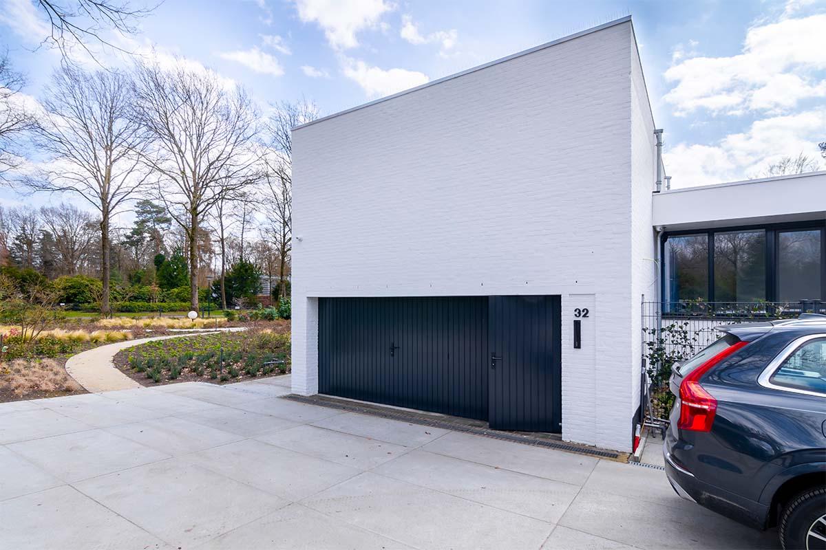 dubbele houten openslaande garagedeur (4)