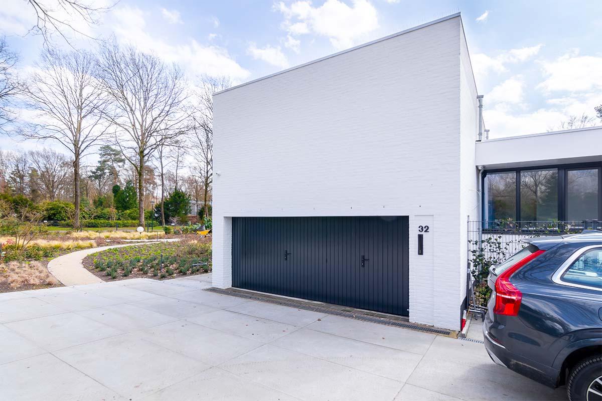 dubbele houten openslaande garagedeur (5)