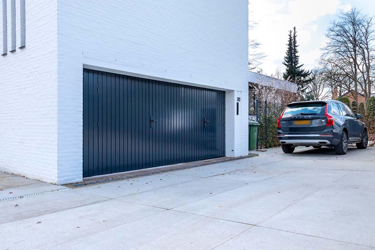 houten openslaande garagedeur donker (4)