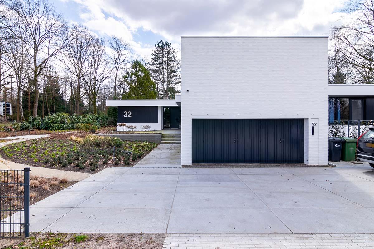 openslaande garagedeuren van hout (9)