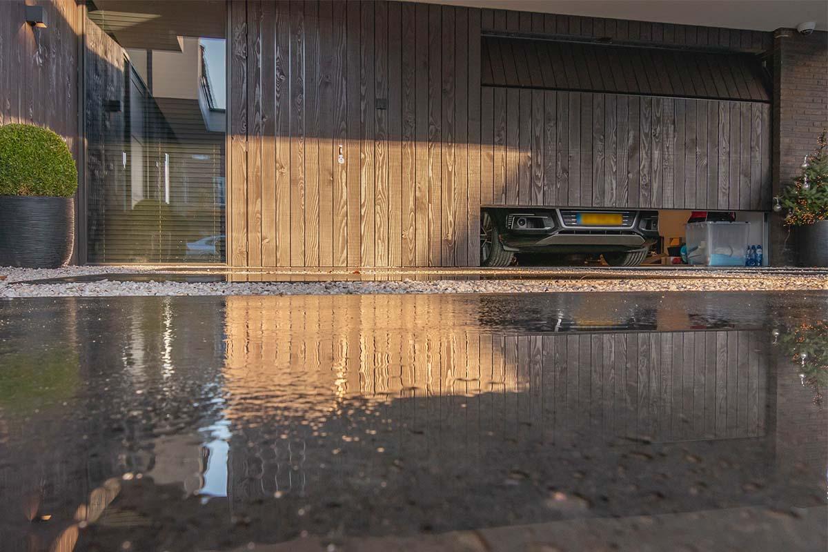 houten garagedeur douglas hout (1)