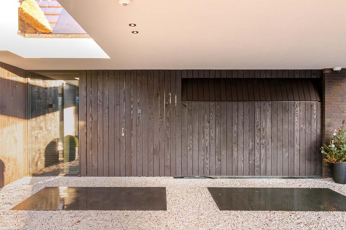houten sectionaaldeur douglashout